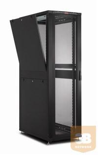 LANDE LN-SR26U6010-BL-111 DYNAmax 26U 600x1000 álló SZERVER rack szekrény 19