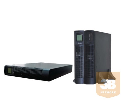 SPS MID3000RTI_0.9_II MID 3000VA Pf.:0.9 online rack/tower UPS with LCD