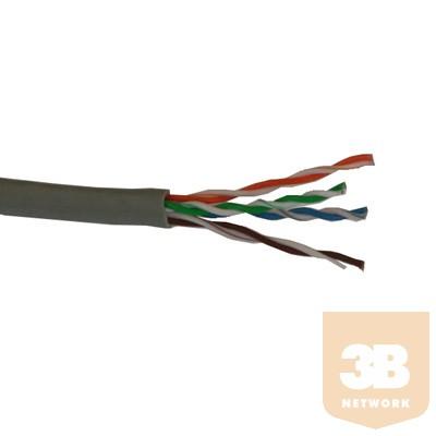 Elite - UTP CAT6 patch kábel, szürke, 305m