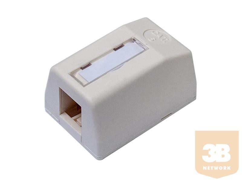 1 portos üres falidoboz keystone modulhoz, üres